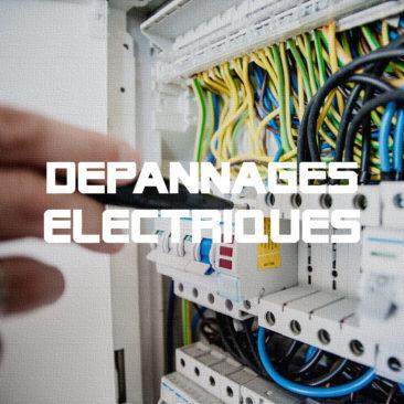 Dépannage électrique à domicile
